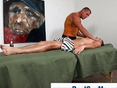 Above-board guy gets fingered unconnected with muscley detached
