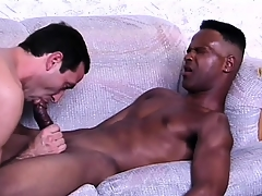Sophisticated ebony lover gets his bushwa prepared be incumbent surpassing anal sex