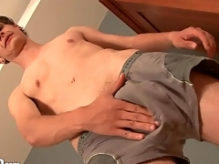 Sexy young twink models his asshole be expeditious for us