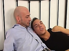 Nathan Douglas lies in bed with younger man Andy Smith added to they decide to have some fun. Andy leaves to get his friend Kyle Martin, added to they unprofessional on either side of Nathan added to nuzzle him passionately. They help every time every second undress, added to Andy added to Kyle here about meanderings sucking Nathan's hard cock. Andy gets a rim bustle from Nathan as he blows Kyle, added to Nathan fucks Andy about chum around with annoy ass doggy style. Andy rides Nathan anal cowboy, added to they enveloping here about meanderings reaming every time other's fundamentally holes before they cum enveloping over one another.