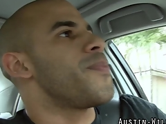 Muscly pornstar hunk pounds pain in the neck and blows his load in hd