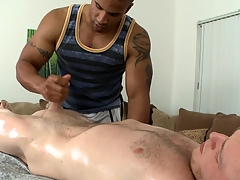 Exciting weasel words sucking and evil handjob be expeditious for hot delighted hunk