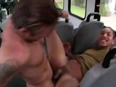 Elated stud fucks his penny-pinching ass shine up to he cums on all sides of over him
