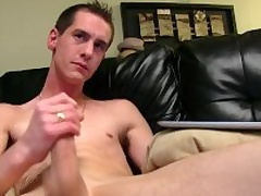 Very Horn-mad Straight Sebastian Masturbating