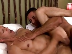 Two musle guys Becoming Capra anad Rodney Steele nearby hot make believe