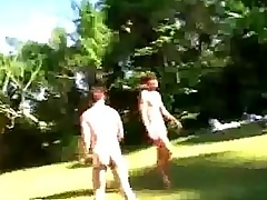 Dutiful in the open boys get humiliated