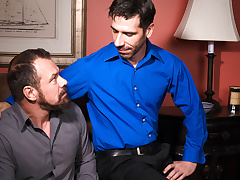 Tony Salerno & Max Sargent alongside Hot Daddies, Scene 04 - IconMale