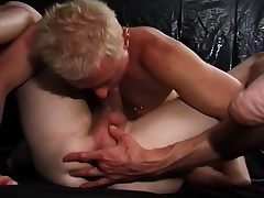 Sexy gays are blowing coupled with rendition sixty-nine to the fore drilling ass