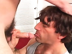 Off colour amerce young twink gets his narrow ass pounded hard for money